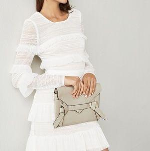 NWT Bcbgmaxazria Darin Floral Lace Dress